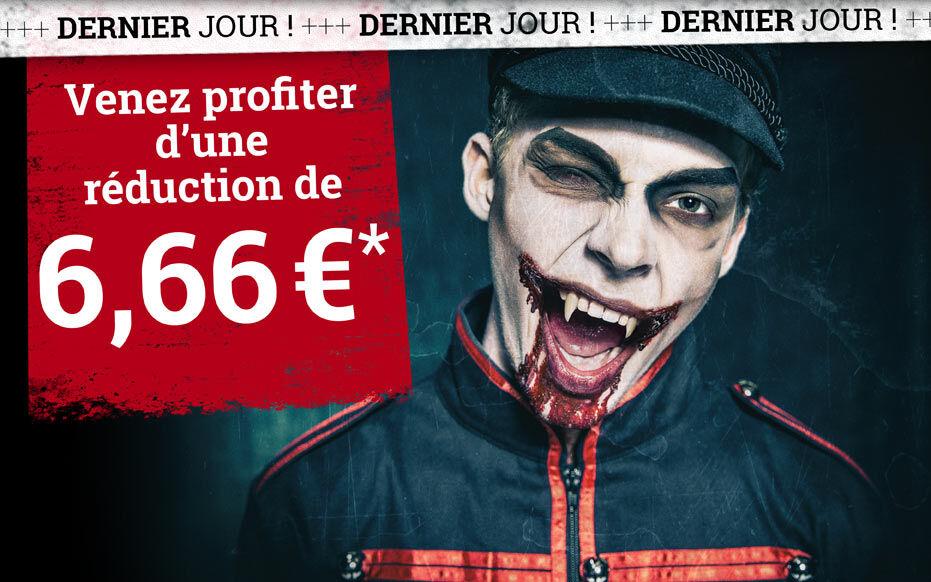 Venez profiter d'une réduction de 6,66 €*
