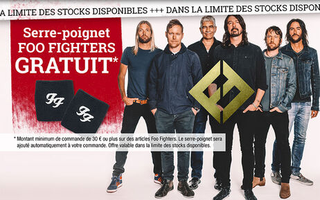 Serre-poignet FOO FIGHTERS GRATUIT
