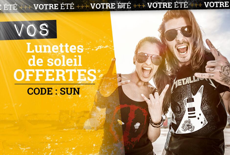ec1f0d97ad8 Vos lunettes de soleil OFFERTES !