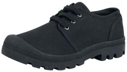 Chaussures militaires basses en toile