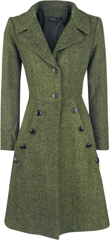 Manteau Style Années 40 Nicole Green