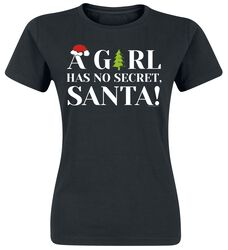 A Girl Has No Secret, Santa!