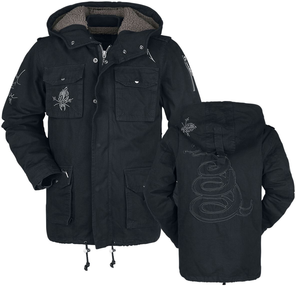 EMP Signature Collection   Metallica Veste d hiver   EMP db174efdb79