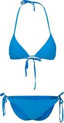 Bikini Triangle Avec Nœuds Sur Les Côtés