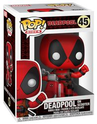 Figurine en vinyle Deadpool en Scooter 45