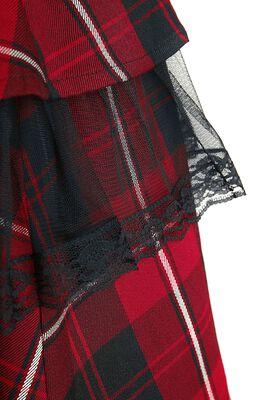 Robe Gothique Red Tartan