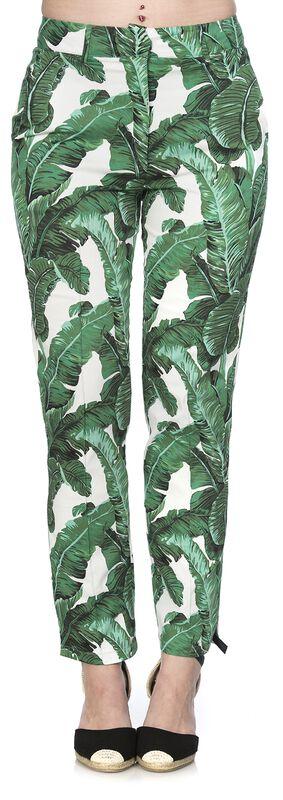 Pantalon Tropical Leaves