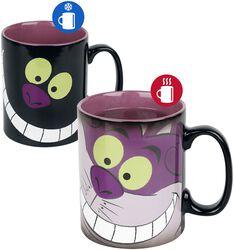 Le Chat Du Cheshire - Mug Thermoréactif
