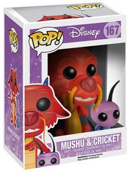Mushu and Cricket Vinyl Figure 167