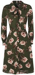Robe Nora Floral 40s Style