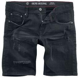 Short En Jean Coupe Standard