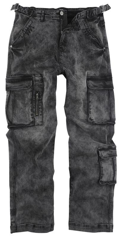 Pantalon Army Vintage - Pantalon Cargo Délavé