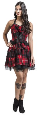 Robe Gothique Red Tartan