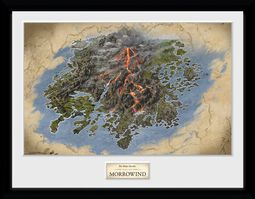 The Elder Scrolls Online Morrowwind - Map