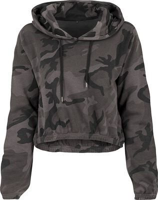 Sweat Court Femme Camouflage