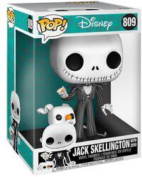 Jack Skellington & Zero (Jumbo Pop!) - Funko Pop! n°809