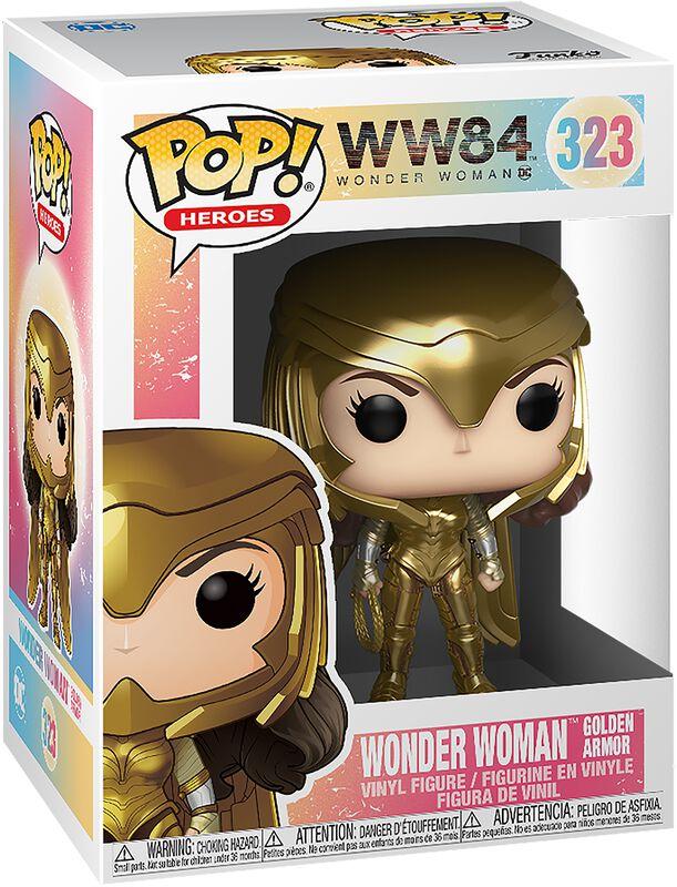 Wonder Woman 1984 - Wonder Woman Armure Dorée - Funko Pop! n°323