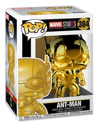 Marvel Studio 10 - Ant-Man (Chrome) - Funko Pop! n°384