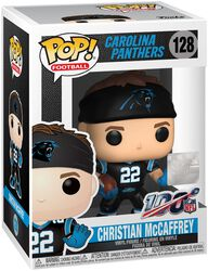 Carolina Panthers - Christian McCaffrey - Funko Pop! n° 128