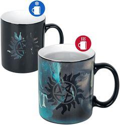 Sam et Dean - Mug Thermoréactif