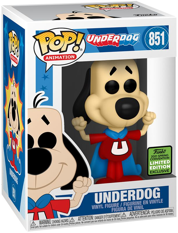 ECCC 2021 - Underdog (Funko Shop Europe) - Funko Pop! n°851