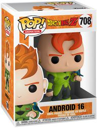 Dragon Ball Z - Android 16 - Funko Pop! n°708