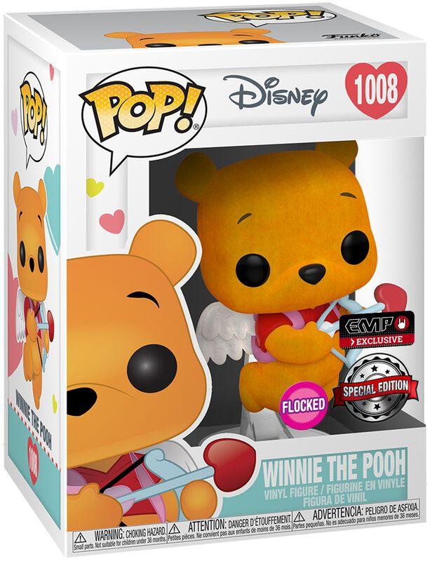 Winnie L'Ourson (St-Valentin) (Flocked) - Funko Pop! n°1008