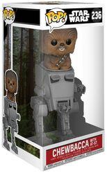 Figurine En Vinyle Deluxe Pop Chewbacca Avec AT-ST