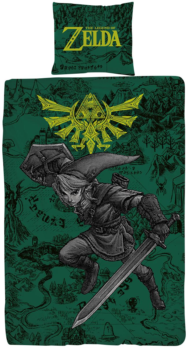 Fight The Legend Of Zelda Parure De Lit Emp