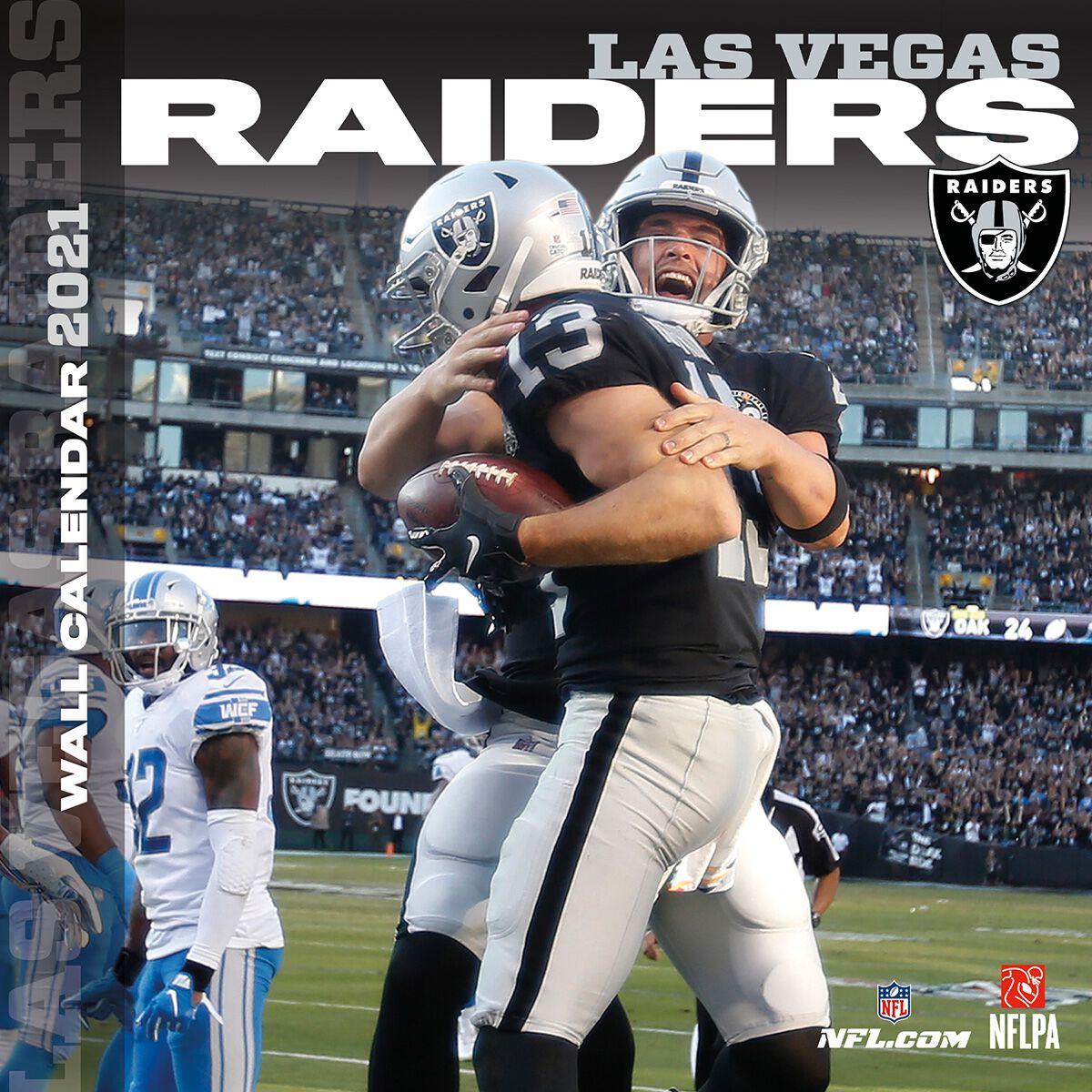 Las Vegas Raiders   Calendrier 2021 | NFL Calendrier mural | EMP