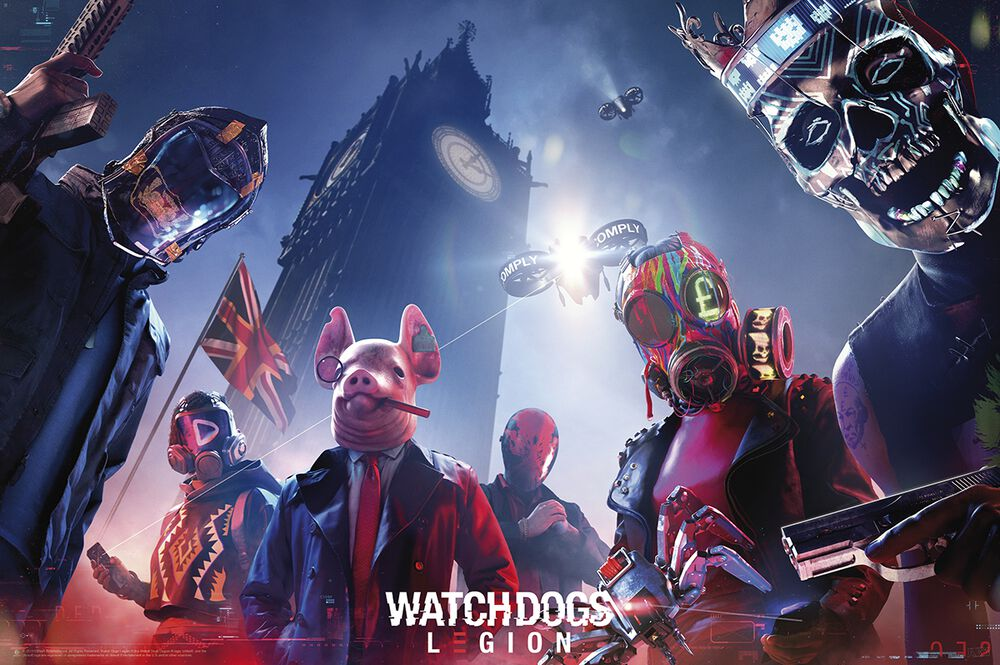 Watch Dogs 3 - Légion - Poster