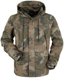 Veste Camouflage Brodée