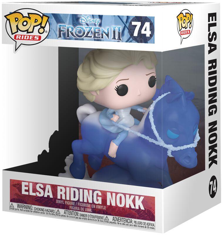 Elsa Sur Nokk (Pop! Rides) - Funko Pop! n°74