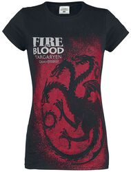Maison Targaryen - Fire And Blood - Emblème