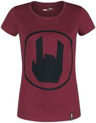 T-Shirt Avec Rockhand