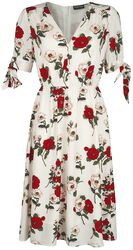 Robe Florale Blanche Lorelei