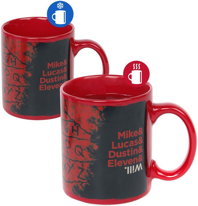 R,U, N - Mug Thermo-Réactif