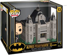 80th - Alfred Pennyworth Avec Manoir Wayne (Pop! Town) - Funko Pop! n°13