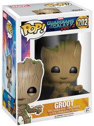 Les Gardiens De La Galaxie 2 - Groot - Funko Pop! n°202