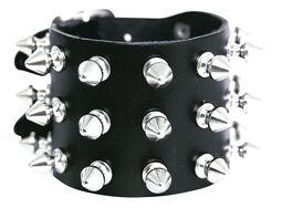 Spikes Bracelet 3-rangées