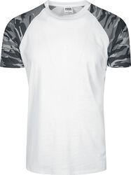 T-Shirt Raglan Contrast