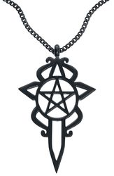 Collier Pentagramme & Dague