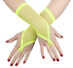 Gants en mesh avec boucle au doigt