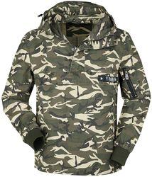 Veste Mi-Saison Avec Imprimé Camouflage