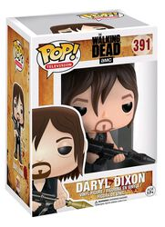 Figurine En Vinyle Daryl Dixon Avec Lance-Rocket 391