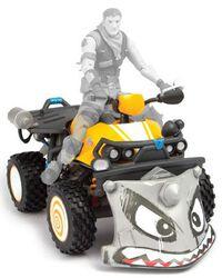 Quadcrasher - Accessoire pour Figurine d'Action (28 cm)
