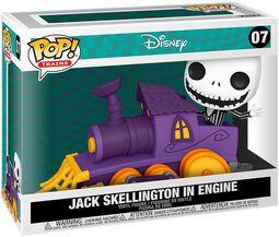 Jack Skellington Dans Locomotive (Pop! Train) - Funko Pop! n°07