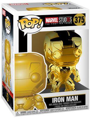 Marvel Studios 10 - Iron Man (Chrome) - Funko Pop n°375