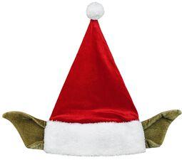 Yoda - Bonnet De Père Noël Avec Des Oreilles