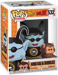 Dragon Ball Z - Maître Kaio et Bubbles - Funko Pop! n°532